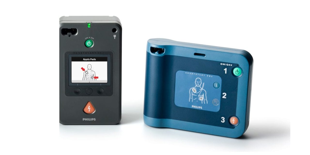 FDA Approves Philips HeartStart AEDs