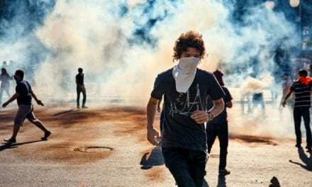 Tear Gas May Increase Risk of Respiratory Infections