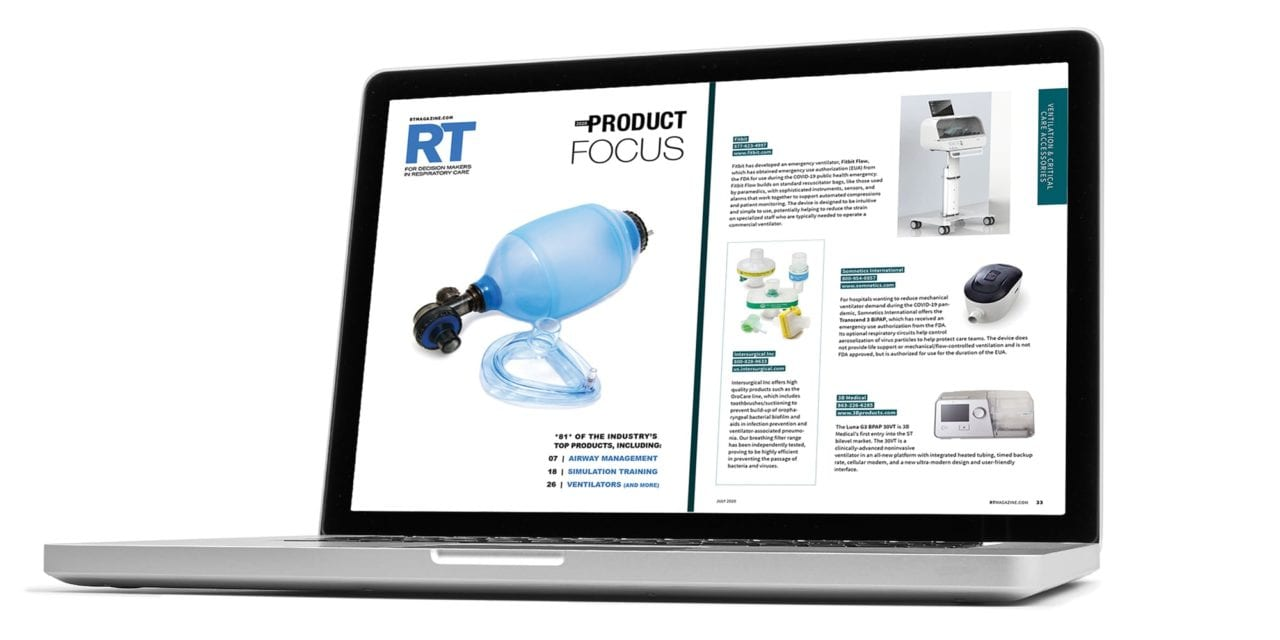 Annual RT Product Focus Available Online