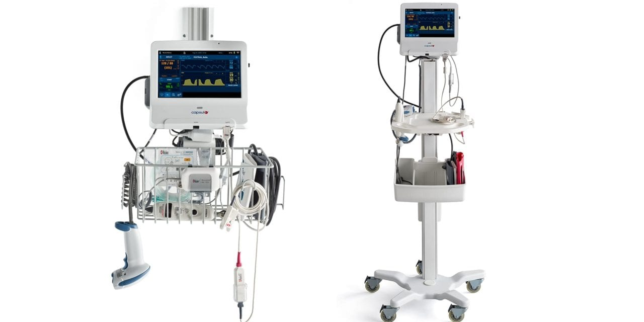 FDA Clearance for Capsule Monitor with Masimo Capnography