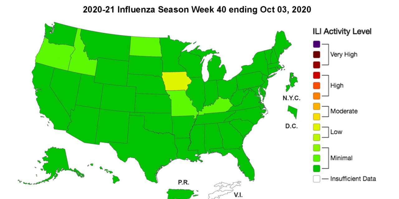 CDC: Changes in Healthcare Seeking Behavior May Drive Down Reported Flu Cases