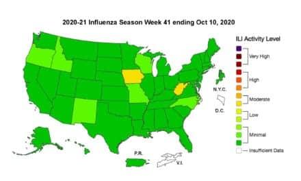 CDC: Flu Season Off to a Slow Start