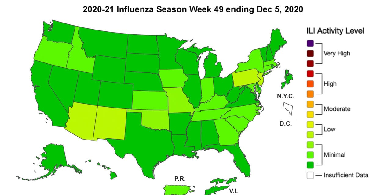 CDC: The First Pediatric Flu Death of the Season is Reported