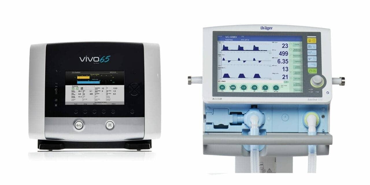 Dräger, Breas Medical Partner on Ventilator Distribution