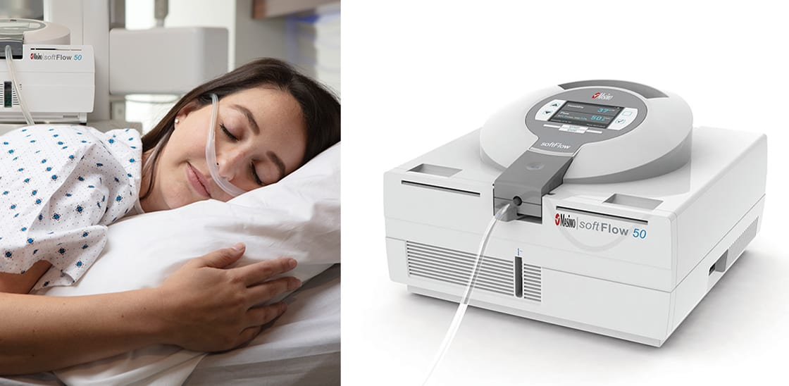 Masimo Releases softFlow High-flow Nasal Cannula Therapy in United States
