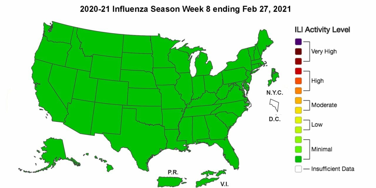 CDC: Only 1 Child Has Died From Influenza This Season